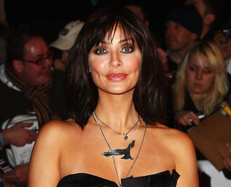Natalie Imbruglia in a black dress on the red carpet