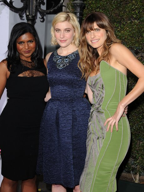 Mindy Kaling Greta Gerwig And Lake Bell No Strings Attached Premiere Heart