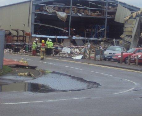 Rackheath industrial estate explosion