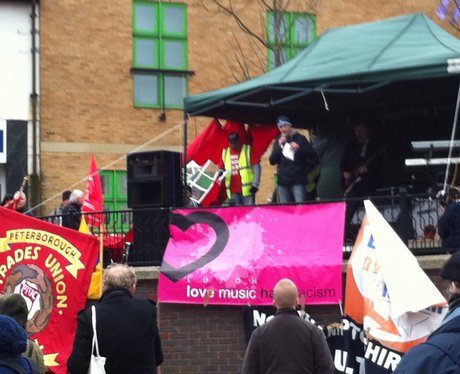 EDL demostrations in Luton