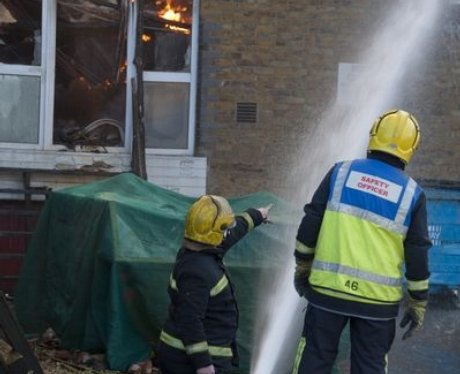 Maldon Factory Fire