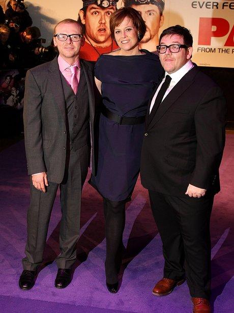 Simon Pegg, Sigourney Weaver and Nick Frost World