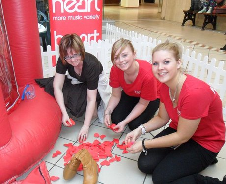 Happy Valentines at the Grosvenor shopping Centre
