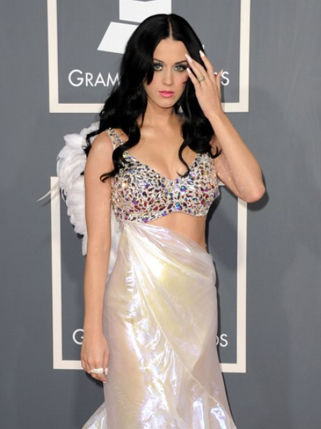 Katy Peryy at the Grammy Awards2011