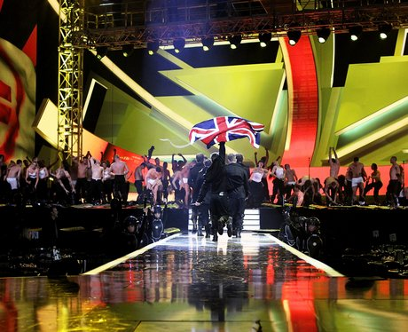 Take That brits rehearsals