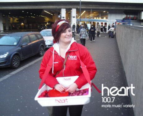 Heart Valentines with Thorntons