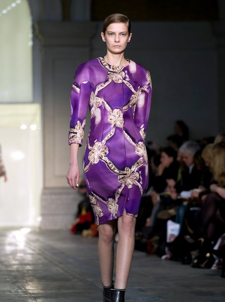 Mary Katrantzou 2011 Fall show