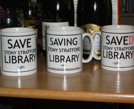 Stony Stratford Library Saved