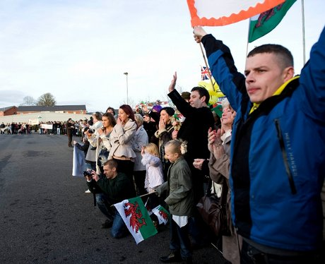 Royal Welsh return from Afghanistan