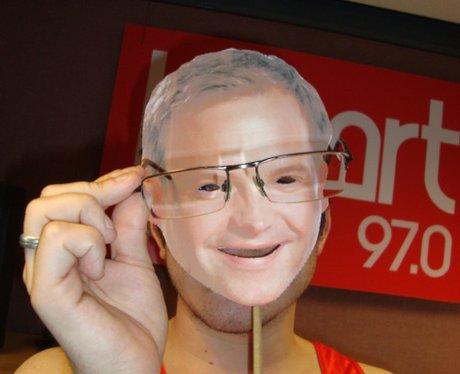Fake Matt wears glasses