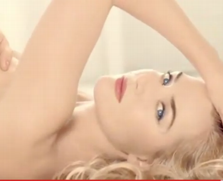 Kate Winslets in the Lancome ad