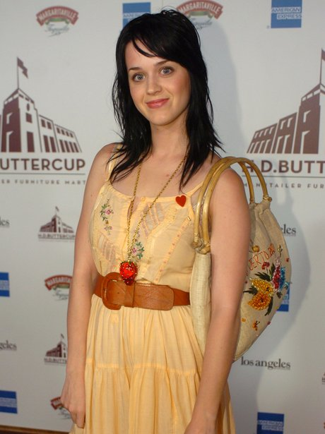 Katy Perry in a yellow dress