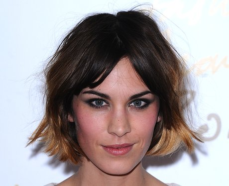 Alexa Chung Dip Dyed Crop Most Iconic Short Celebrity Haircuts Heart