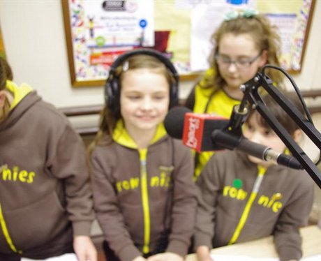 Brownies of St. Michaels church Bournemouth
