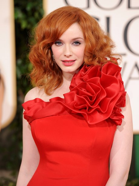 Christina Hendricks with red hair