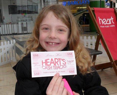 Hearts Cash Tracks win £50!