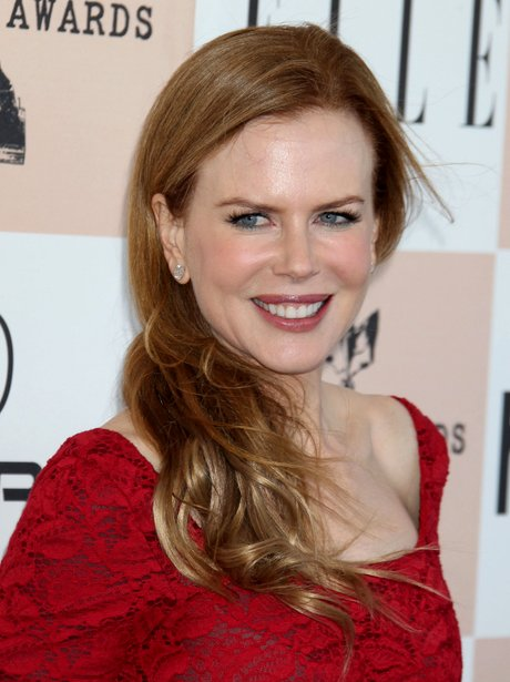 Nicole Kidman with long red hair