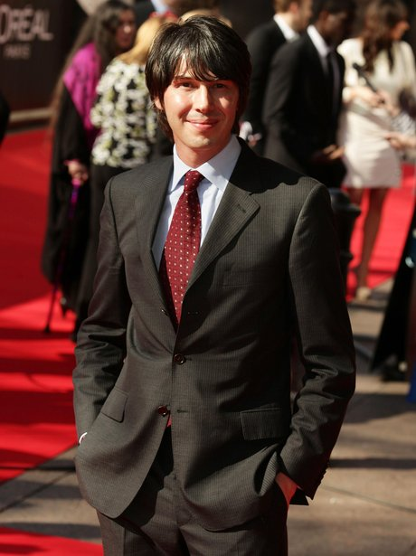 Brian Cox on the red carpet