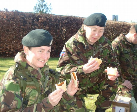 Soldiers get their first 'taste' of Afghanistan