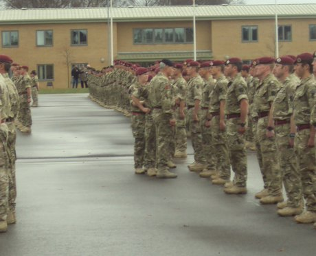 Woodbridge Soldiers Medals Parade