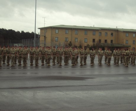 Woodbridge Soldiers Medals Parade
