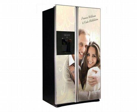 Prince William and Kate Middleton fridge