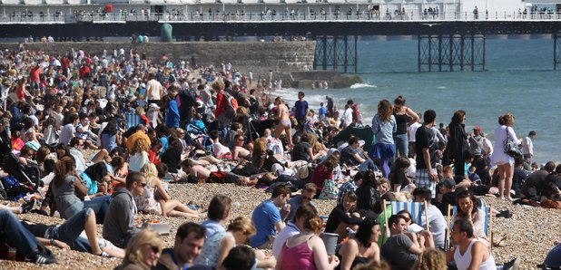 Sussex And Surrey Heat Warning