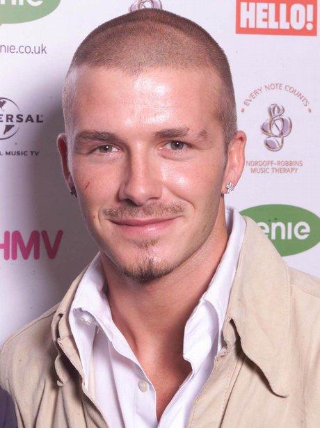 David Beckham Shaved Head
