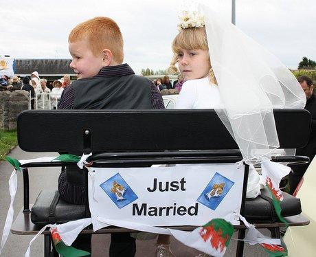 Mock Royal Wedding