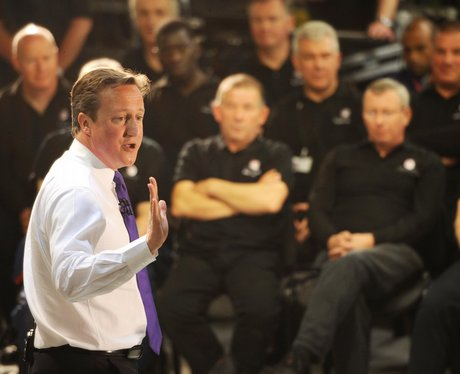 David Cameron Luton