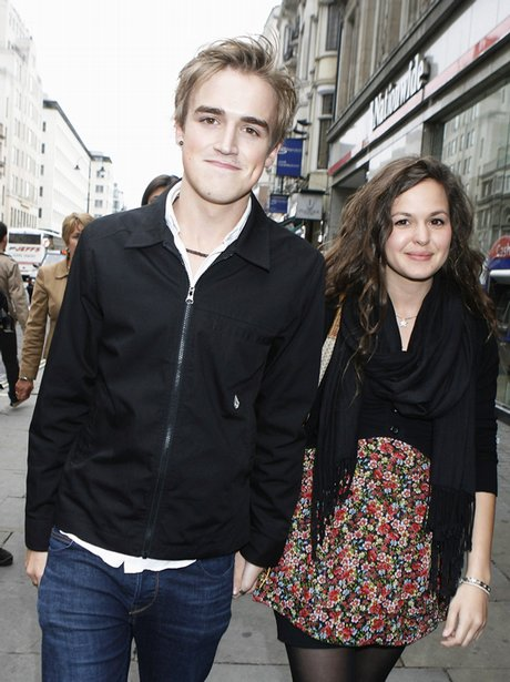 Tom Fletcher and Girlfriend
