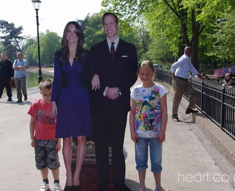 Will and Kate in Birmingham