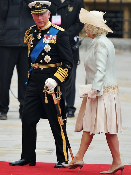 Prince Charles unifrom