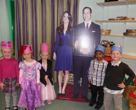 Royal Wedding School Parties