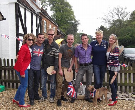 Royal Wedding Street Parties Across Bedfordshire