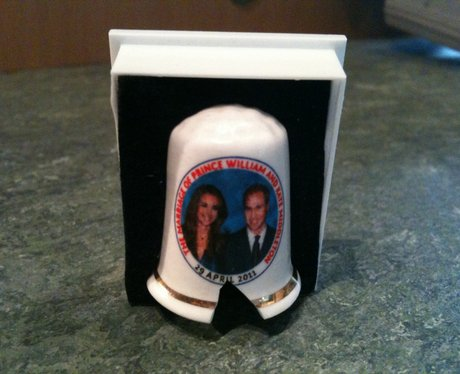 Royal Wedding Thimble