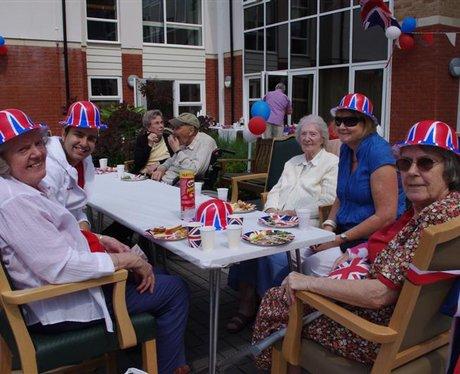 Street Party at Hamilton House, Drayton
