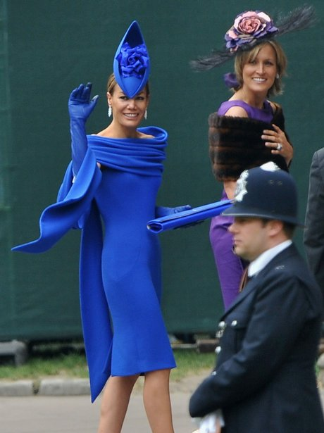 Royal Wedding Day Tara Palmer-Tomkinson