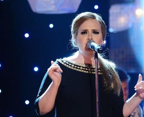 Adele singing
