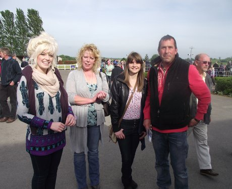 Heart & Alexandra Burke at Wincanton Racecourse