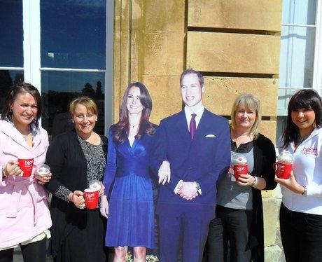 Royal Wedding Work Place Visit