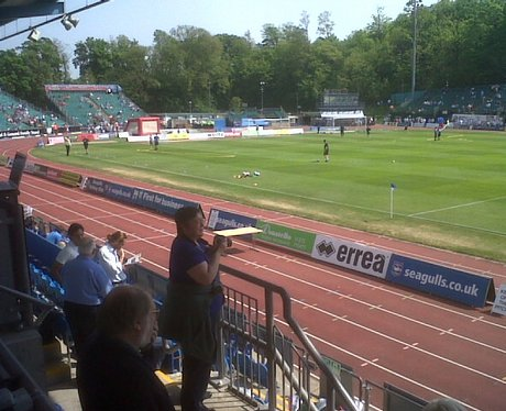 Pics from the final match at Withdean