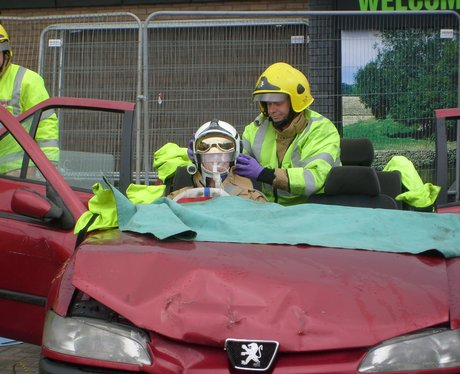 Glos car rescue