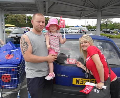 Hearts Feel Good Month of May- Heart Angels Car St