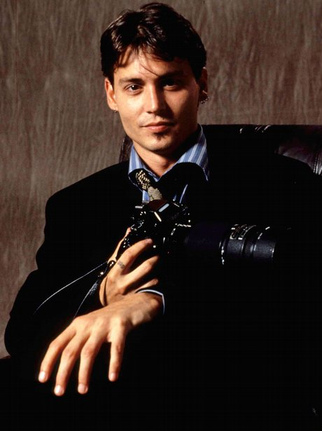 Image result for johnny depp camera