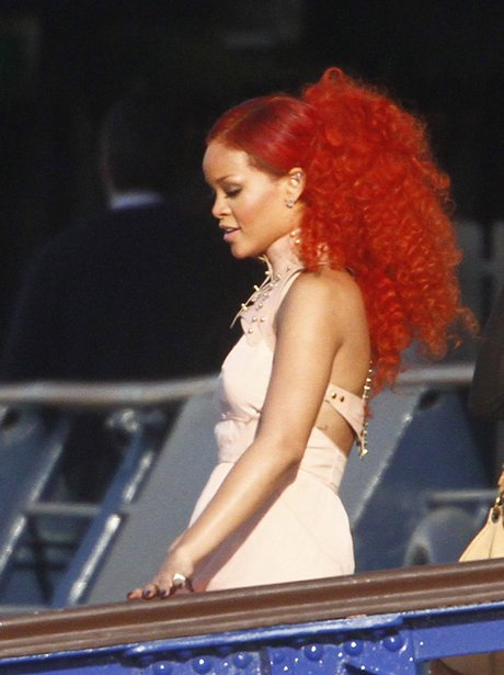 Rihannas new look