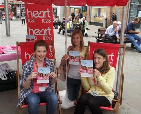 Hearts Feel Good Month of May- Race For Life Launc