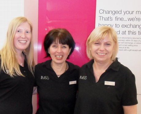 re launch of the Marks and Spencer's