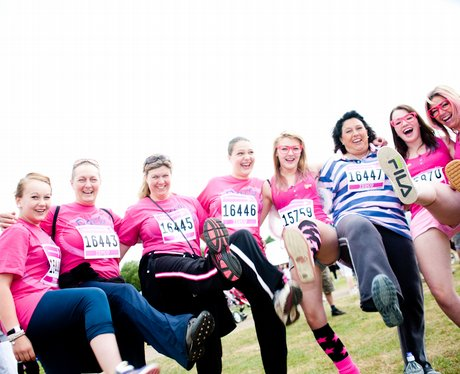 Race for Life Norwich Sunday Morning
