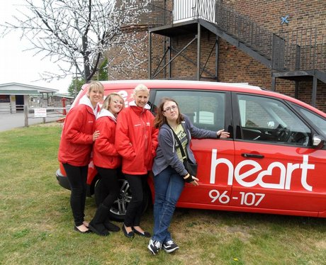 Hearts Feel Good month of May at The Hop Farm